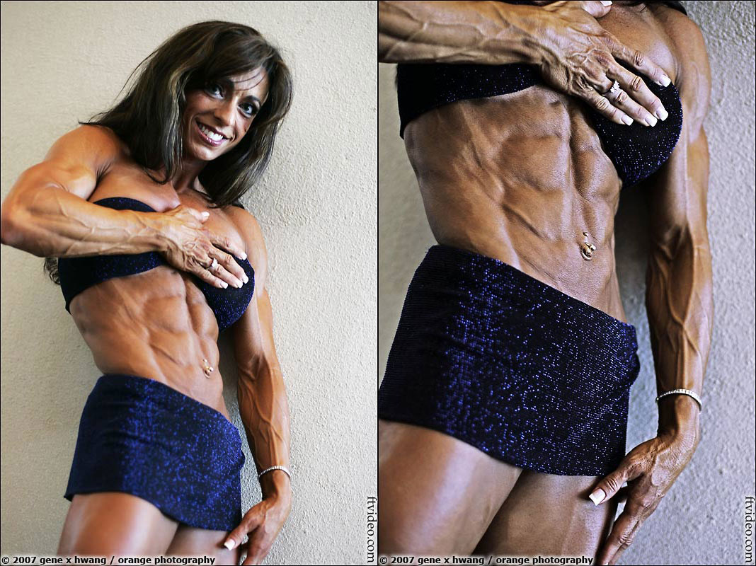 World female bodybuilding abs