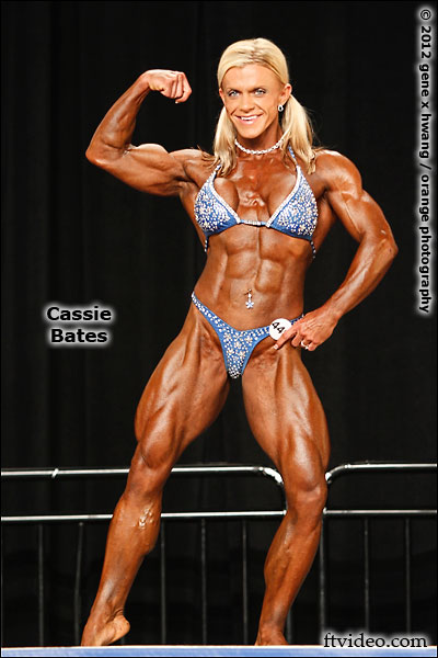 female bodybuilder cassie bates