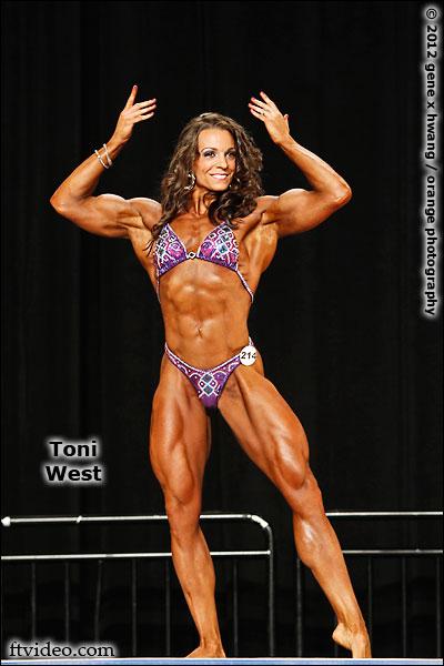 Toni West IFBB Physique Pro