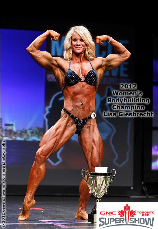 Lisa Giesbrecht women's bodybuilding champion
