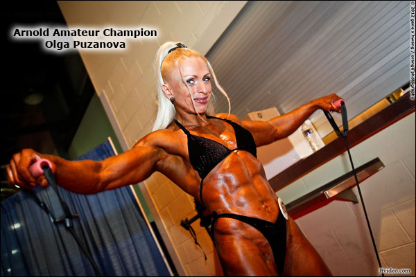 Olga Puzanova female bodybuilder