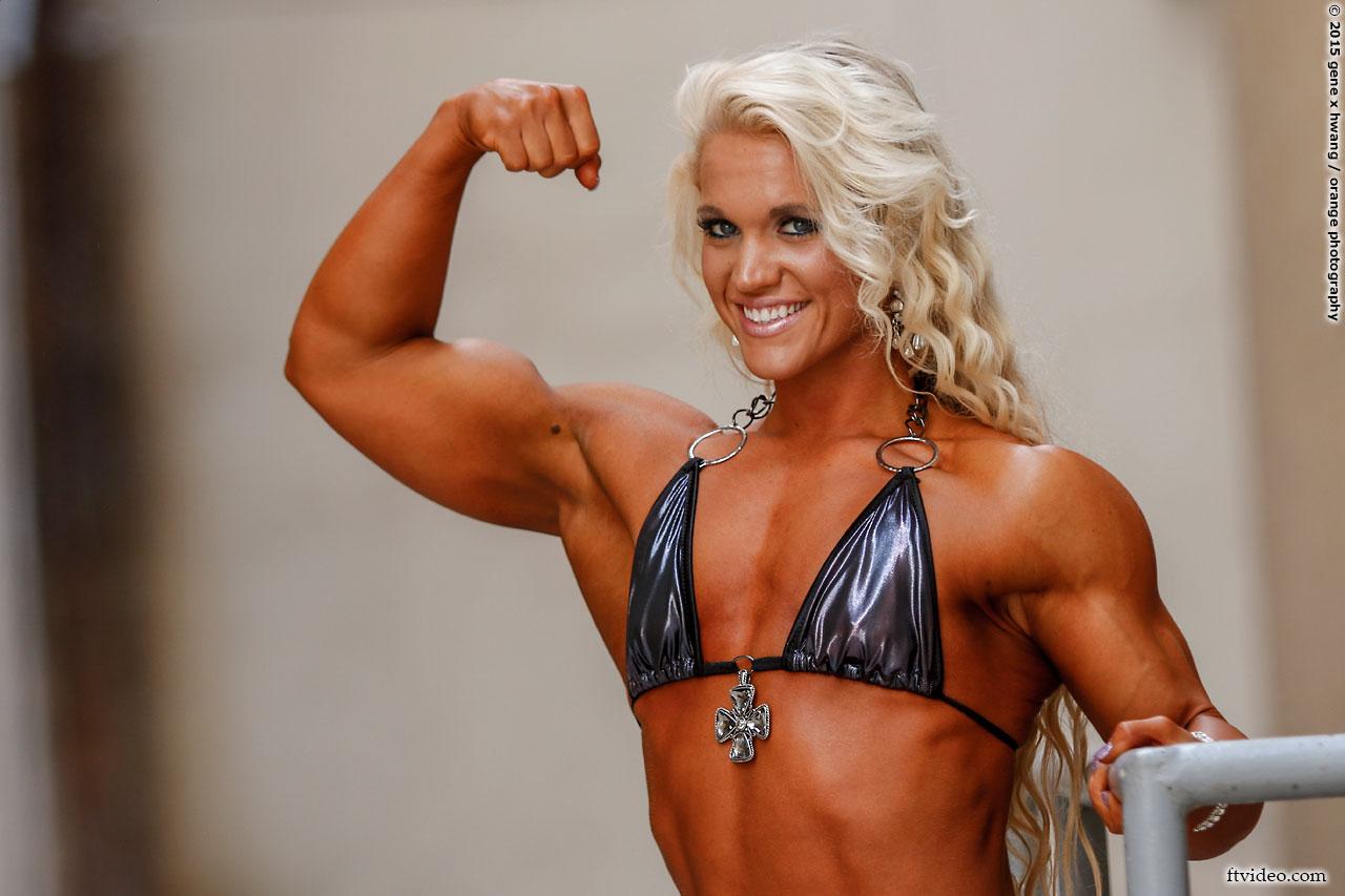 Lauranda Nall biceps