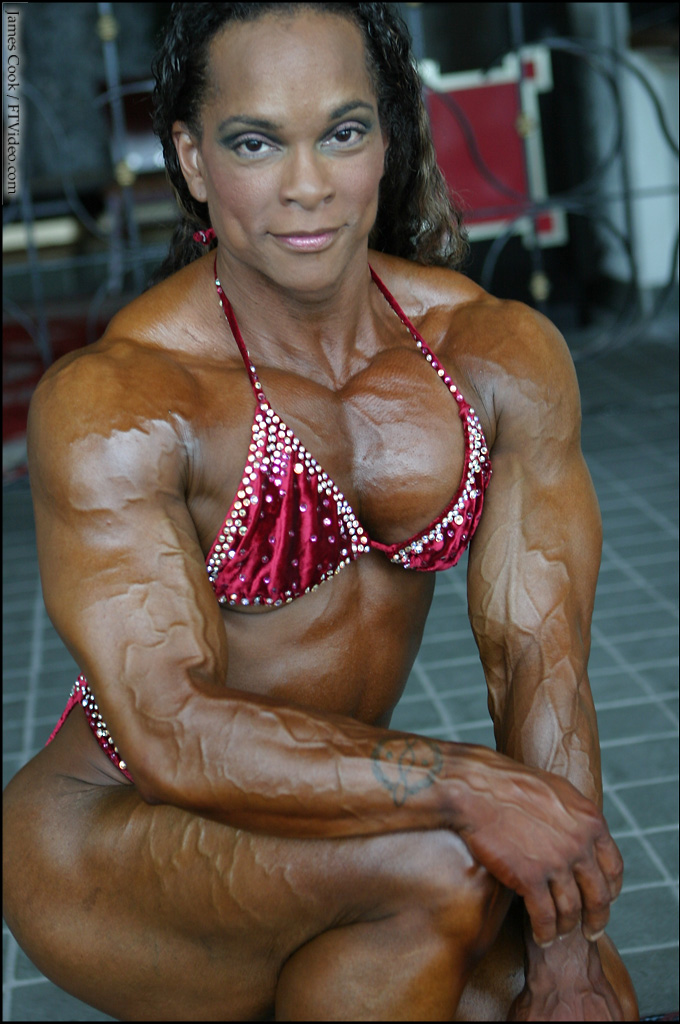 Bodybuilder Nancy Lewis