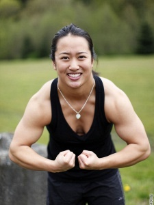 sonny flexing clip Asian muscle